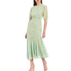Sachin + Babi Alexandra Georgette Midi Dress